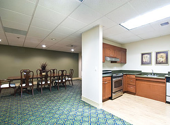 Catalina Community has meeting space with a fully equipped kitchen.