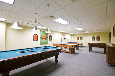 Spend time playing games and meeting neighbors in the Catalina game room.